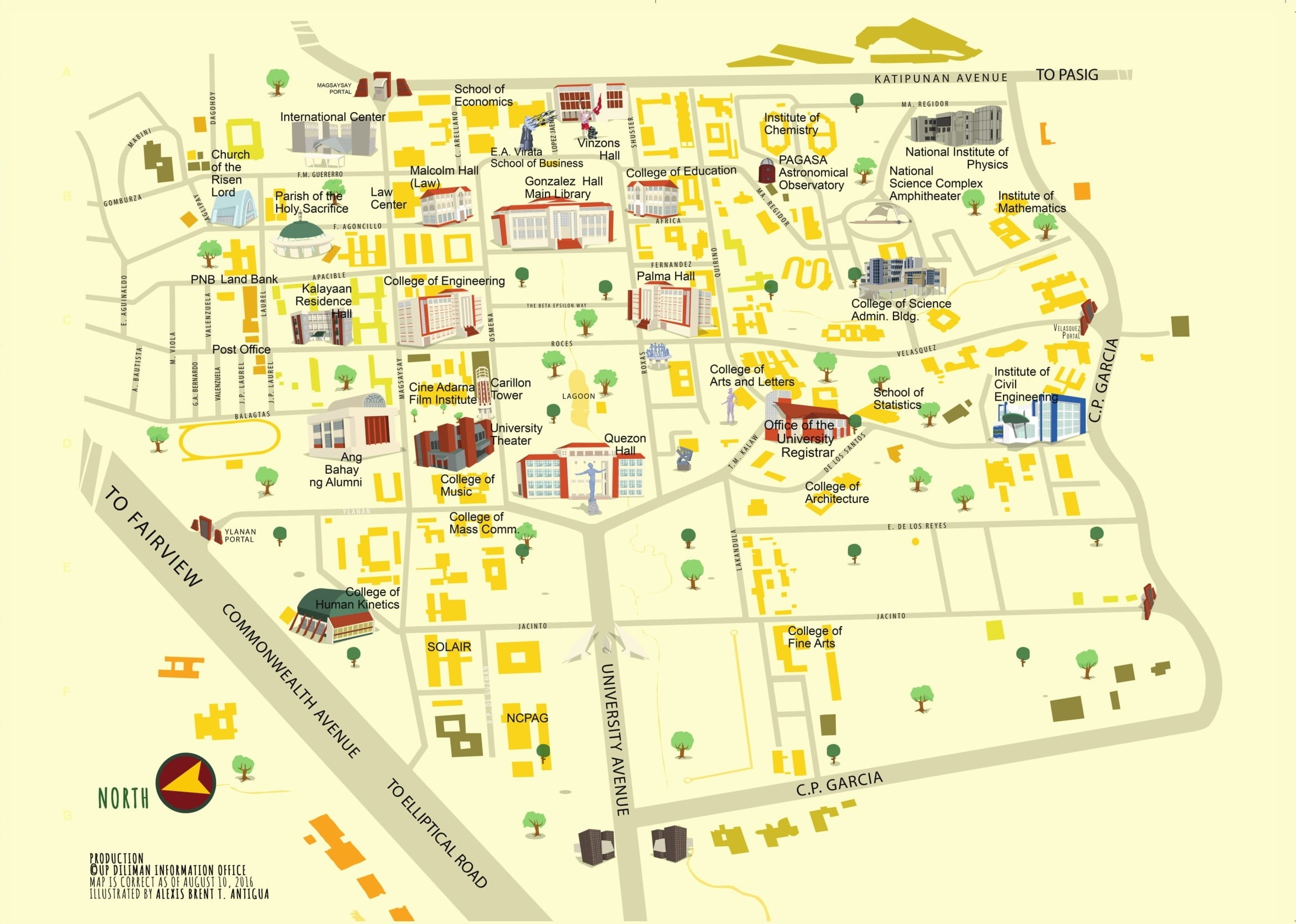 Udm Campus Map.Office Of The University Registrar